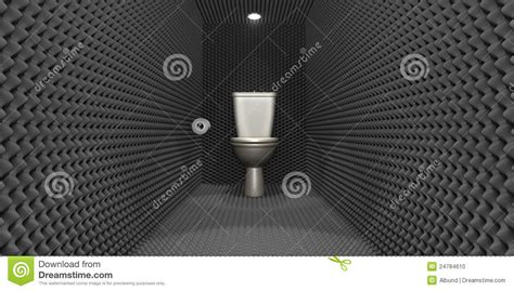 soundproof bathroom soundproof toilet cubicle stock illustration illustration