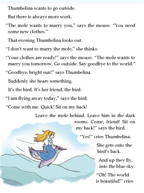 Duckling Book Report by Literature Grade 3 Tales Thumbelina 5 Different Lands Different Stories