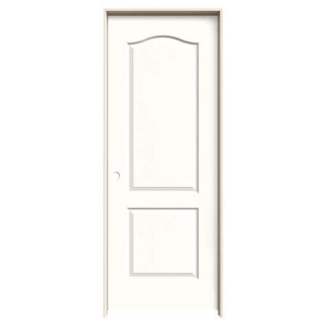 14 X 80 Interior Door by Jeld Wen 32 In X 80 In Camden Vanilla Painted Right