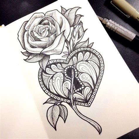 draw tattoo with pen draw tattoo tatuagem pen drawing pentel micron