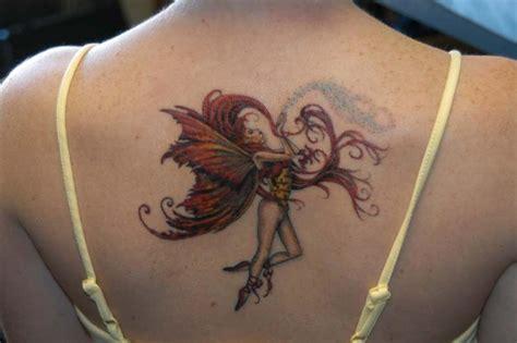 tattoo back fairy fairy tattoos designs busbones