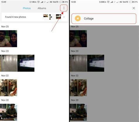 cara membuat foto kolase online begini cara membuat foto kolase di miui 9 androbuntu