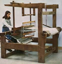 Floor Loom Plans by Textile Machine