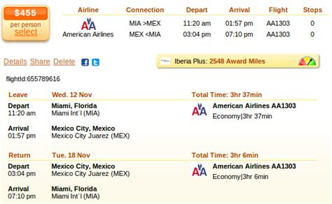 mexico city cheap flights  american airlines