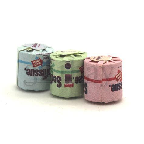 dollhouse toilet 3 tiny dollhouse toilet paper rolls dollhouse bathroom