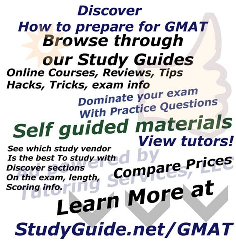 gmat exam sections advice website study recommendation website for gmat