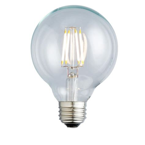 Globe Led Light Bulbs Globe Electric 60w Equivalent Soft White 2200k Vintage Edison Dimmable Led Light Bulb 73193