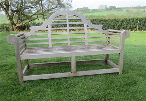 vintage lutyens garden bench  sale  salvoweb  uk