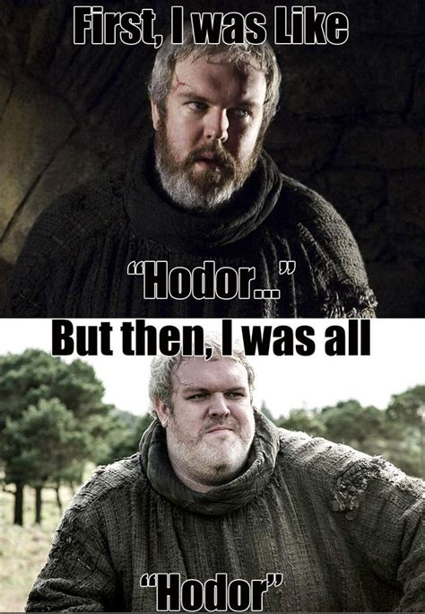 Game Of Thrones Hodor Meme - hodor know your meme