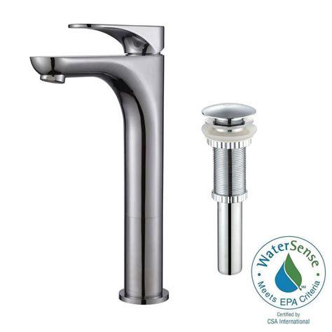 Vessel Bathroom Faucets by Kraus Aquila Single Single Handle Vessel Bathroom