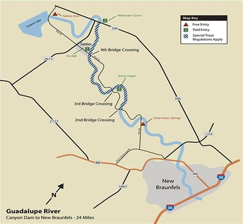 guadalupe river map texas float guadalupe river take the plunge