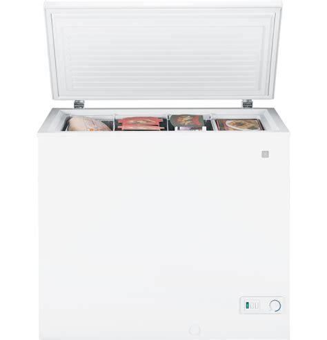 ge 174 7 0 cu ft manual defrost chest freezer fcm7suww