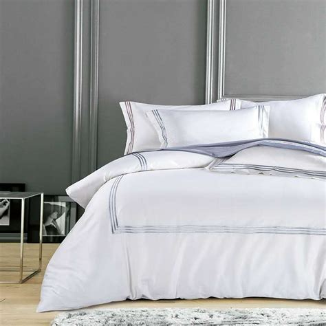 V Bed Bed Cover Set 120x200x30 No 3 Single Size Valen Diskon white luxury hotel bedding sets king size silver gold embroidery duvet cover cotton