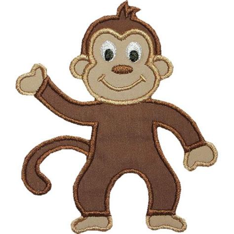Free Applique Design by Free Monkey Applique Design Monkey Applique Design