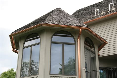 Which Is Better Metal Or Vinyl Gutters - lowes amerimax half gutter mpls installation painted