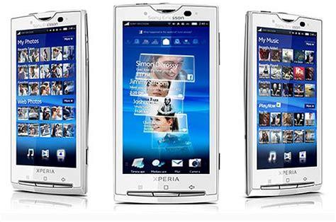 Handphone Sony Ericsson Android data harga handphone sony ericsson xperia x10