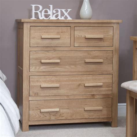 eton solid modern oak furniture    bedroom chest  drawers ebay