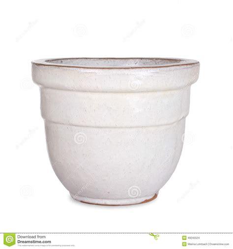 white pot pottery white flower pot stock photo image 49245524