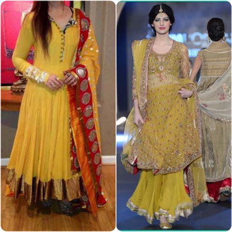design dress 2017 mehendi dresses for asian brides 2016 2017 stylo planet