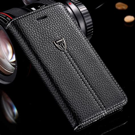 luxury magnetic flip stand wallet leather for iphone