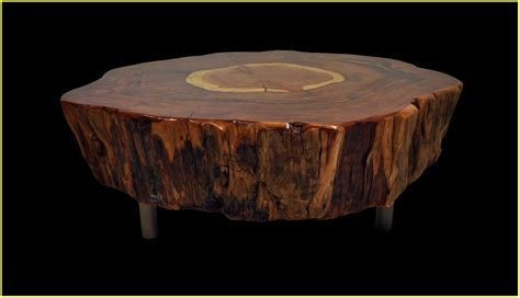 wood stump stool home design ideas