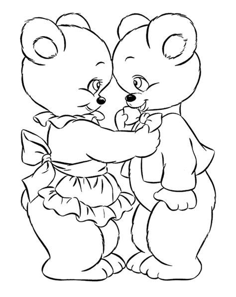 imagenes para pintar oso para colorear de osos tiernos imagui
