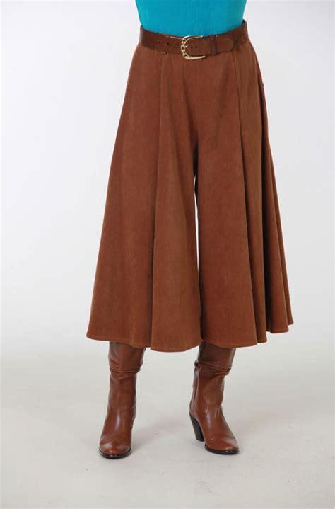 western tobacco color gaucho western wear by n