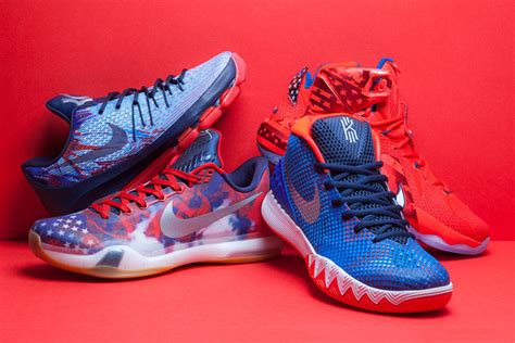 basketball shoes new releases 2015 nike basketball s independence day collection arrives