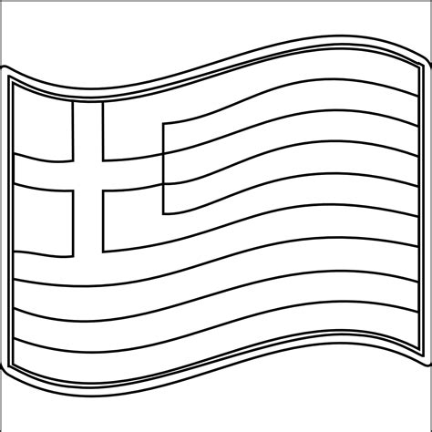 greek flag coloring pages