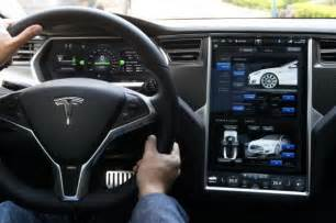 Electric Car Tesla Interior How The Tesla Model S Is Killing It Solarfeeds