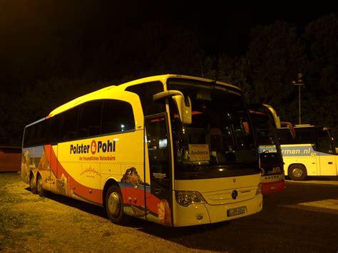 polster und pohl reisen mercedes dreiachser fotos autobusse startbilder de