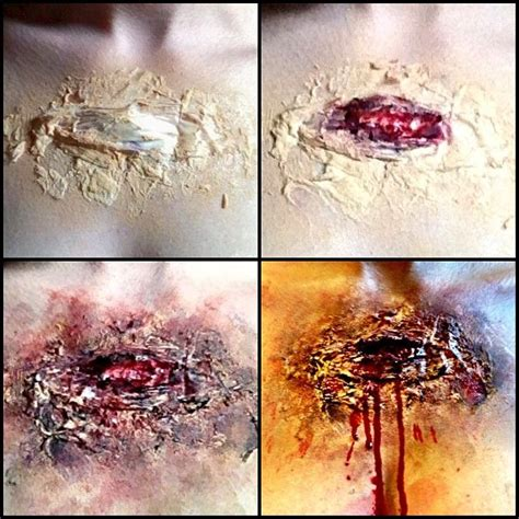 horror wound painting kit 52 best makeup fx painting images on