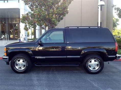 1999 Chevy Tahoe 2 Door by Purchase Used 1999 Chevrolet Tahoe 2 Door Ls 4wd