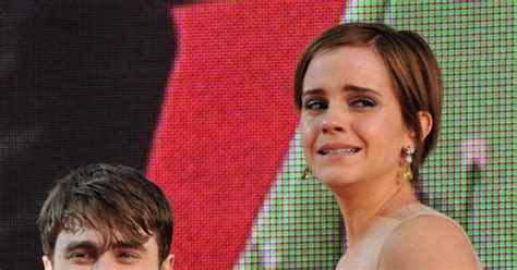 Emma Watson Crying | emma watson photos celebrities crying ny daily news