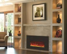 Wall Mount Fireplace Ideas by 25 Best Electric Fireplaces Ideas On