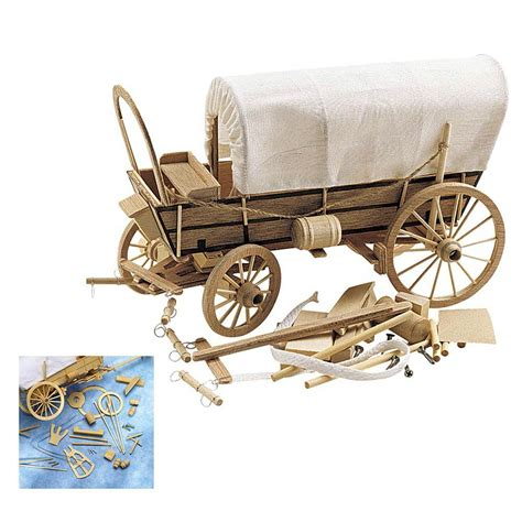 covered wagon wooden model kit wood working plans