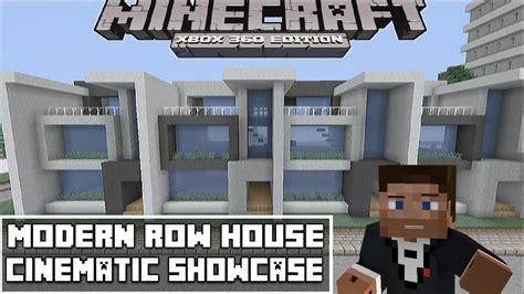 modern row houses minecraft xbox 360 modern row house showcase youtube