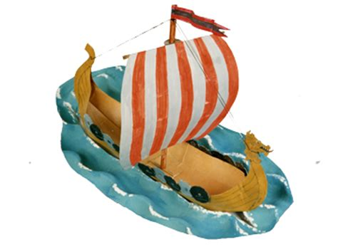 how to make a viking boat step by step how to make