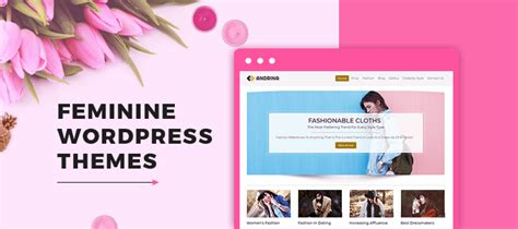 girly wordpress themes 5 feminine wordpress themes free and paid formget