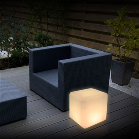 Outdoor Light Cube Magic Led Cube Int Ext Lighting Products Quintezz