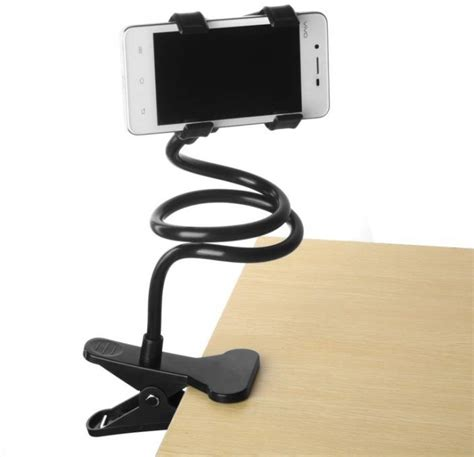 Smartphone Holder Mobil Stand Hp Biru giw 90cm universal lazy mobile phone holder stand for bed desk table car high qualiety