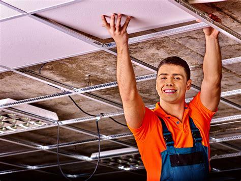 Renovation Plafond by R 233 Novation Du Plafond Suspendu Prix Et Conseils De Pro