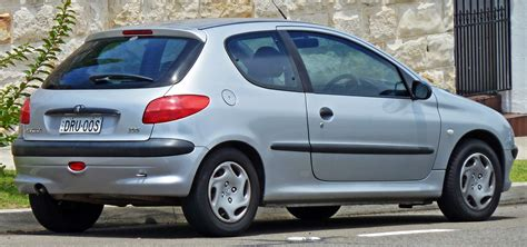pezo car peugeot 206 wallpaper auto database com