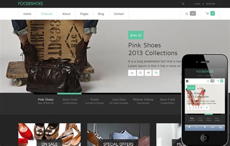 23 Best Ecommerce Shopping Html5 Css3 Templates To Sell Online Free And Premium Download Ecommerce Website Templates Free In Html5 Css3