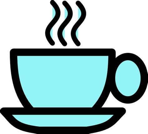Blue Tea Cup Clip Art at Clker.com   vector clip art online, royalty free & public domain