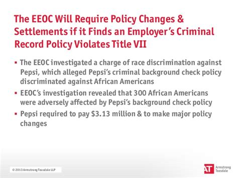 If Charges Were Dismissed Do I A Criminal Record The Eeoc S Renewed Focus On Criminal Background Checks