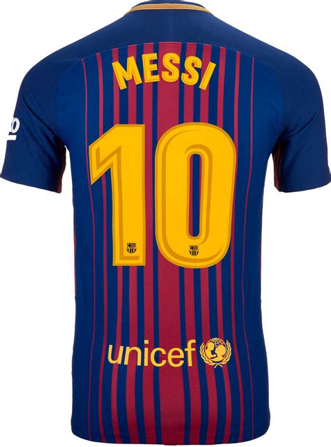 barcelona jersey 2017 messi nike lionel messi barcelona match home jersey 2017 18