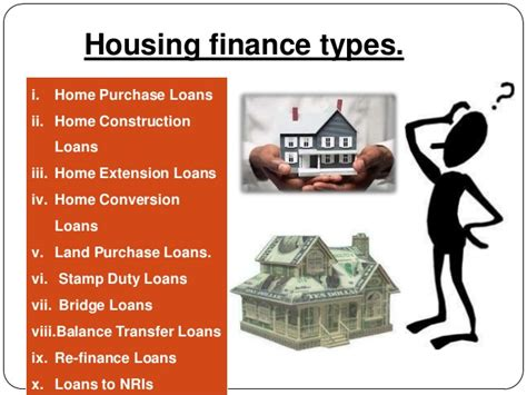 housing loan in india housing finance methods in india