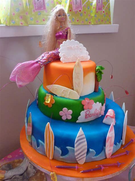 bolos decorados da barbie