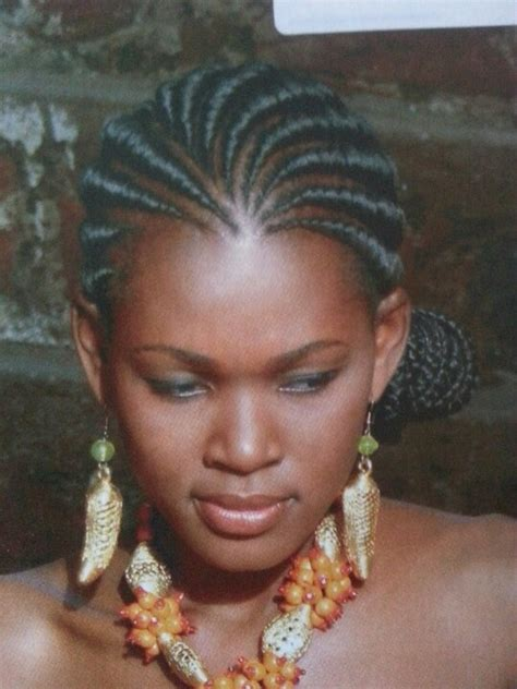 ghanda braids ghana weave with a bun hair pinterest buns and ghana
